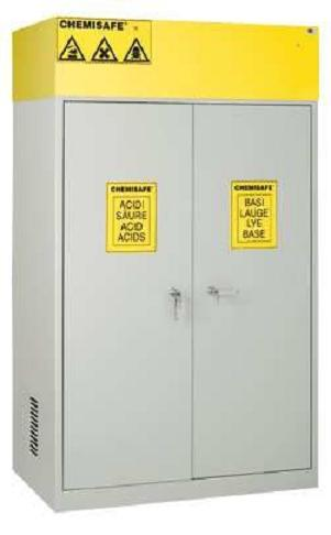 ARMADIO DI SICUREZZA CHEMISAFE ® MOD. CS 120