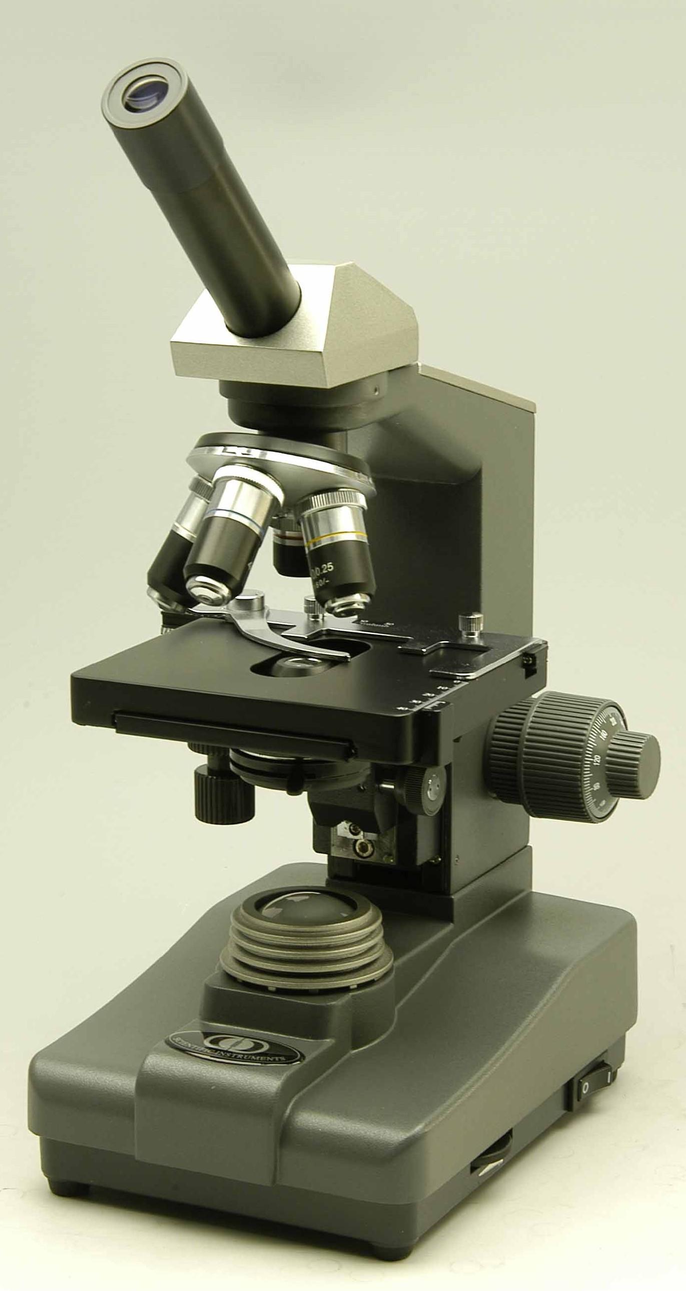 MICROSCOPIO BIOLOGICO MONOCULARE 1000X